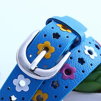 Children Pu Leather Belts, Kids Classic,, Leisure For Jeans Pants