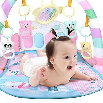 3 In 1 Baby Play Tappeto Tappeto Kid Crawling Gioco di musica Sviluppo Mat