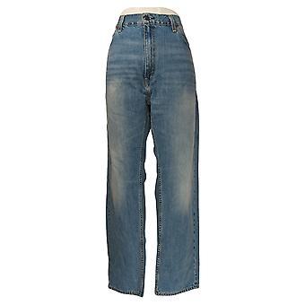 Levi's Men's Straight Jeans 40x32 505 العادية 5-Pocket Blue