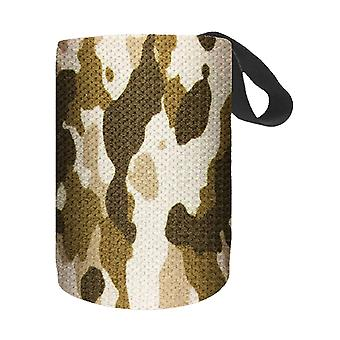 2PC Nylon 63x8cm Camouflage Camouflage Brown Wrap Left and Right Sports Bracers