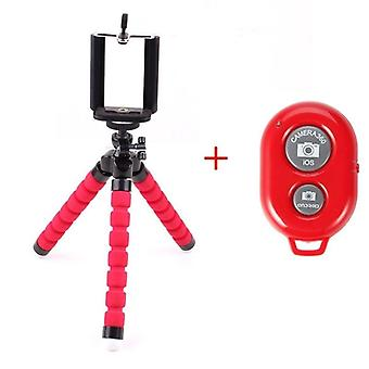 Flexible Octopus Tripod Bracket Camera Stand Monopod Support Remote Control