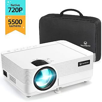 Vankyo szabadidő 470c natív 720p projektor, full hd 1080p támogatott és 250'' kijelző, 5500 lumen