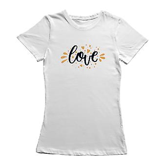 Happy Valentine's Day Gold Typography Only You T-Shirt By Shutterstock
