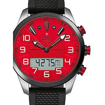 Reloj masculino militar suizo por Chrono SM34061.02, cuarzo, 45 mm, 10ATM