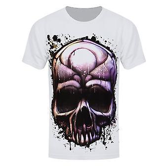 Grindstore Miesten Maalattu Kuolema T-paita