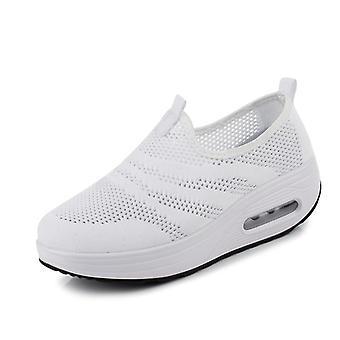 調子靴、高さを増加テニスフェミニノフィットネスシューズ