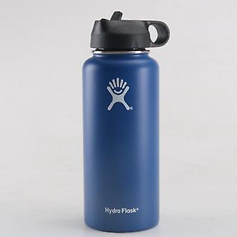 Vacuum Insulated Flask, Stainless Steel, Water Bottle Wide Mouth, Sports