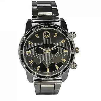 Reloj analógico de Batman Gunmetal