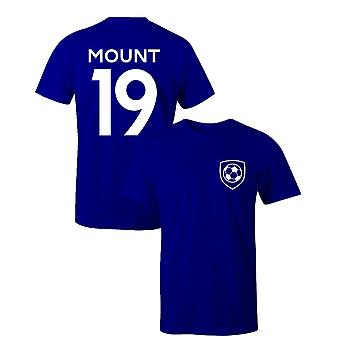 Mason Mount 19 Club Style Player Football T-Shirt