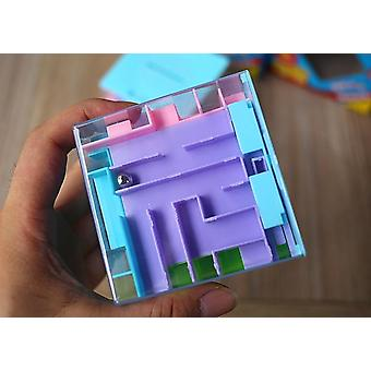 3d Cube Puzzle Sokkelo Rahalaatikko Kolikko Laatikko Käteissäästölaatikko Säästöpossu Pankkikolkojen varastointi