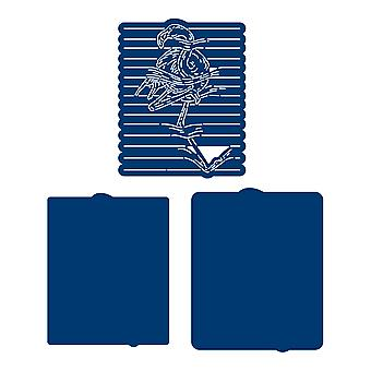 Tattered Lace Notebook Flamingo Die Set