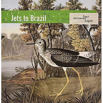 Jets To Brazil - Four Cornered Night (Trans Clr W Black) [Vinyl] USA import
