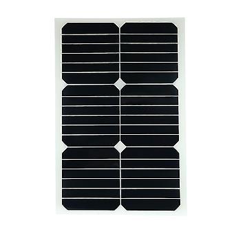 Solarpanel mono semi-flexible de 20W 12v avec puce de puissance solaire pour les bateaux de chargeur de batterie cara