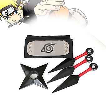 Anime Muovi Narutos Itachi Shuriken Ninja Tähdet Akatsuki ase prop ase