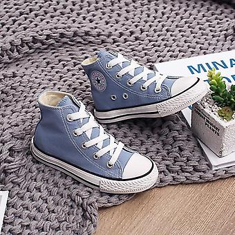 Children High-top Canvas, Quality Fabric School Shoes, Sneakers