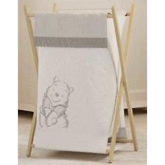 Gray Winnie The Pooh Hamper