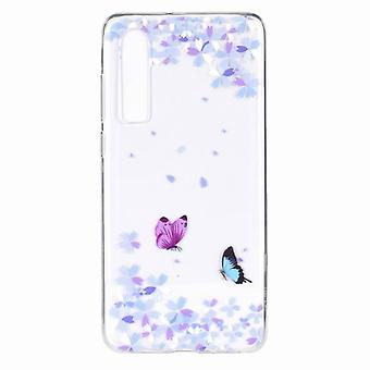 Shockproof ultra-thin TPU case for Honor 10 Lite/Huawei P Smart 2019 - Multicolored (#3)