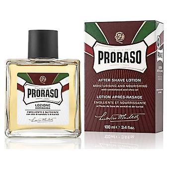 Proraso Lotion Après-Rasage Rouge 100 ml