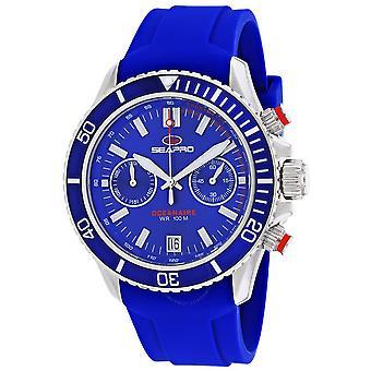 Seapro Thrash Chronograph Quartz Blue Dial Men's Watch SP0332