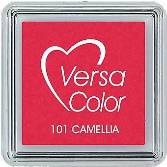 Almohadilla de tinta de pigmento Versacolor pequeña - Camelia