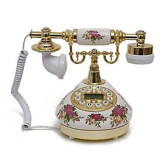 Antique Style Rotary Phone Princess French Style Old Fashioned Handset Telephone Tc-507