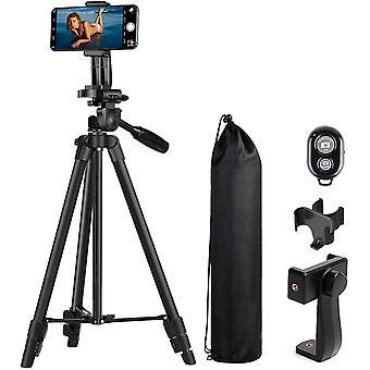 Reise Kamera Handy Phone Foto Stativ - Leichtes Handliches Kamerastativ 118CM mit Kamerastativ