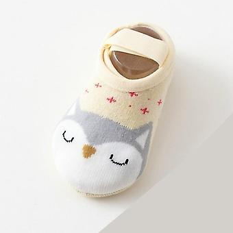 חמוד קריקטורה כותנה רצפת גרביים, בעלי חיים דפוס הראשון ווקר נעליים