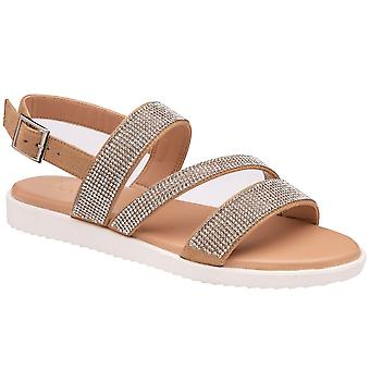 Lotus Olive Womens Sandals