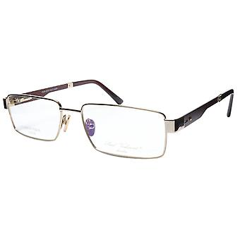 Paul Vosheront Eyeglasses Frame PV314 C1 Gold Plated Carbon Italy 57-17-145 31