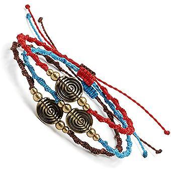 BENAVA - Tibetan Copper Bracelet, with Tibetan Pendant and Copper, Color: Set of 3, cod. 100045