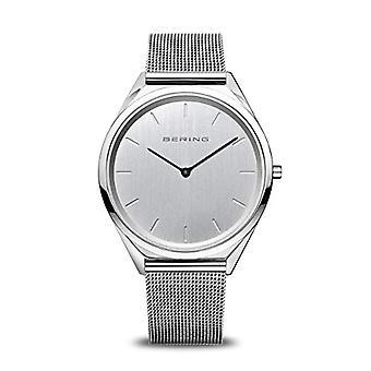BERING Analogueic Horloge Quartz Unisex met Roestvrijstalen Band 17039-000