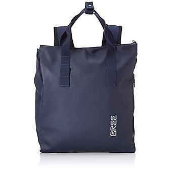 Bree Pnch 732, Unisex-Adult Shoulder Bag, Blue, 12x38x32 cm (B x H x T)