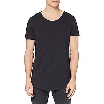 Lee formad tee T-shirt, Svart Delave, XXL Män
