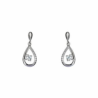 Sirius - Dazzling Drop - Icons Earrings - Silver - Jewellery Gifts for Women from Lu Bella