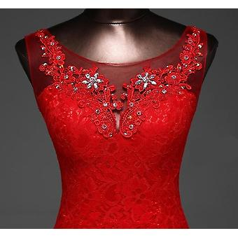 Lindo vestido de noiva sereia de lace flowers