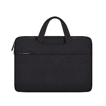13.3Inch 35 * 26 * 3cm musta vedenpitävä ja kulutusta kestävä kannettava laukku, 15.6inch Apple Macbook, huawei, lenovo az20079