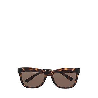 Balenciaga BB0151S havana unisex sunglasses
