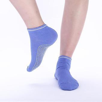 Women yoga socks non slip ladies anti slip silicone gym pilates ballet socks fitness sport socks cotton breathable elasticity