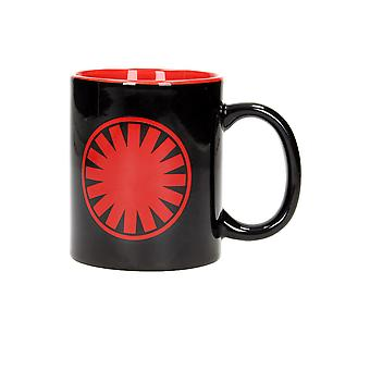 First Order Symbol (Star Wars) Black Mug