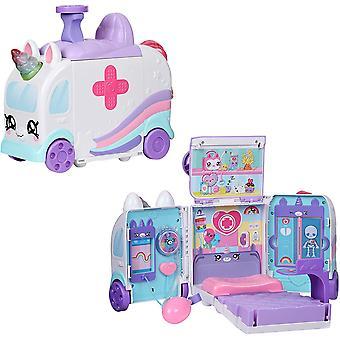 Kindi Kids Hospital Corner Yksisarvinen Ambulanssi Leikkisetti