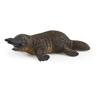 Schleich Wild Life Platypus Speelgoed Figuur-Zwart/Bruin