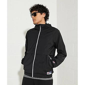 Superdry Code Sportstyle Cagoule - Black