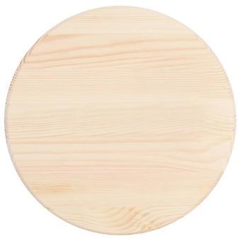 vidaXL Tischplatte Natürliches Kiefernholz Rund 25 mm 40 cm
