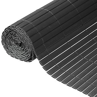 Nature Dubbelzijdige Garden Visual Protection PVC 1,5×3 m Antraciet