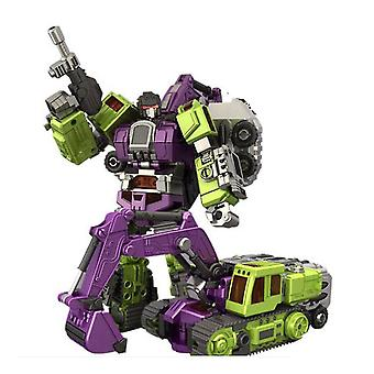Transformers 5 Gt Hercules Nbk Auto robot di deformazione escavatore trasparente