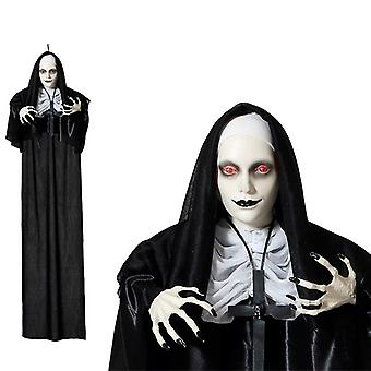 Halloween Decorations Creepy Nun