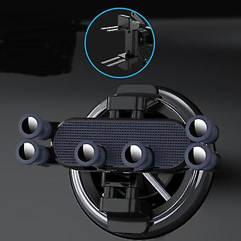 Monitoiminen pyöreä ilmanpoistoauton puhelimen pidike
