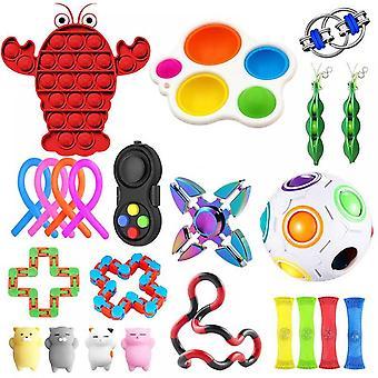 Lohill 23pcs Fidget Sensory Toys Set Kit Stress Relief Toys