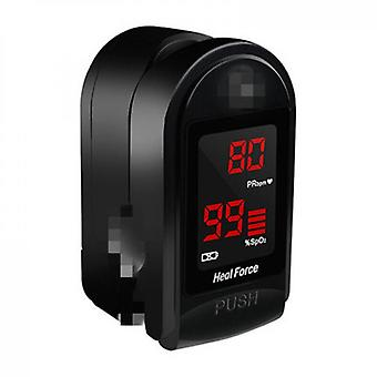 500dl Fingertip Oximeter With Silicon Cover, Batteries And Lanyard