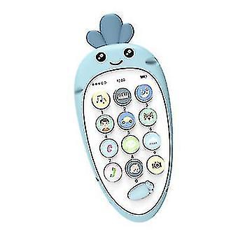 Baby-Musik-Handy-Spielzeug (Blau)